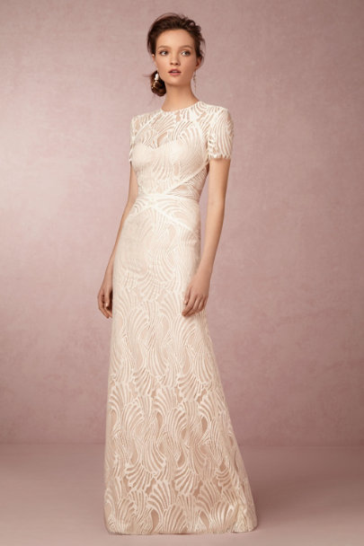 Watters Ivory/Bare Beilin Gown | BHLDN