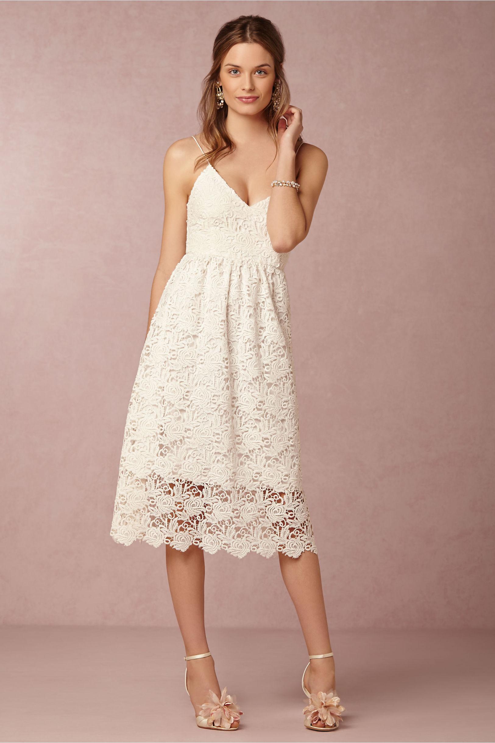 Reese Dress in Lingerie | BHLDN