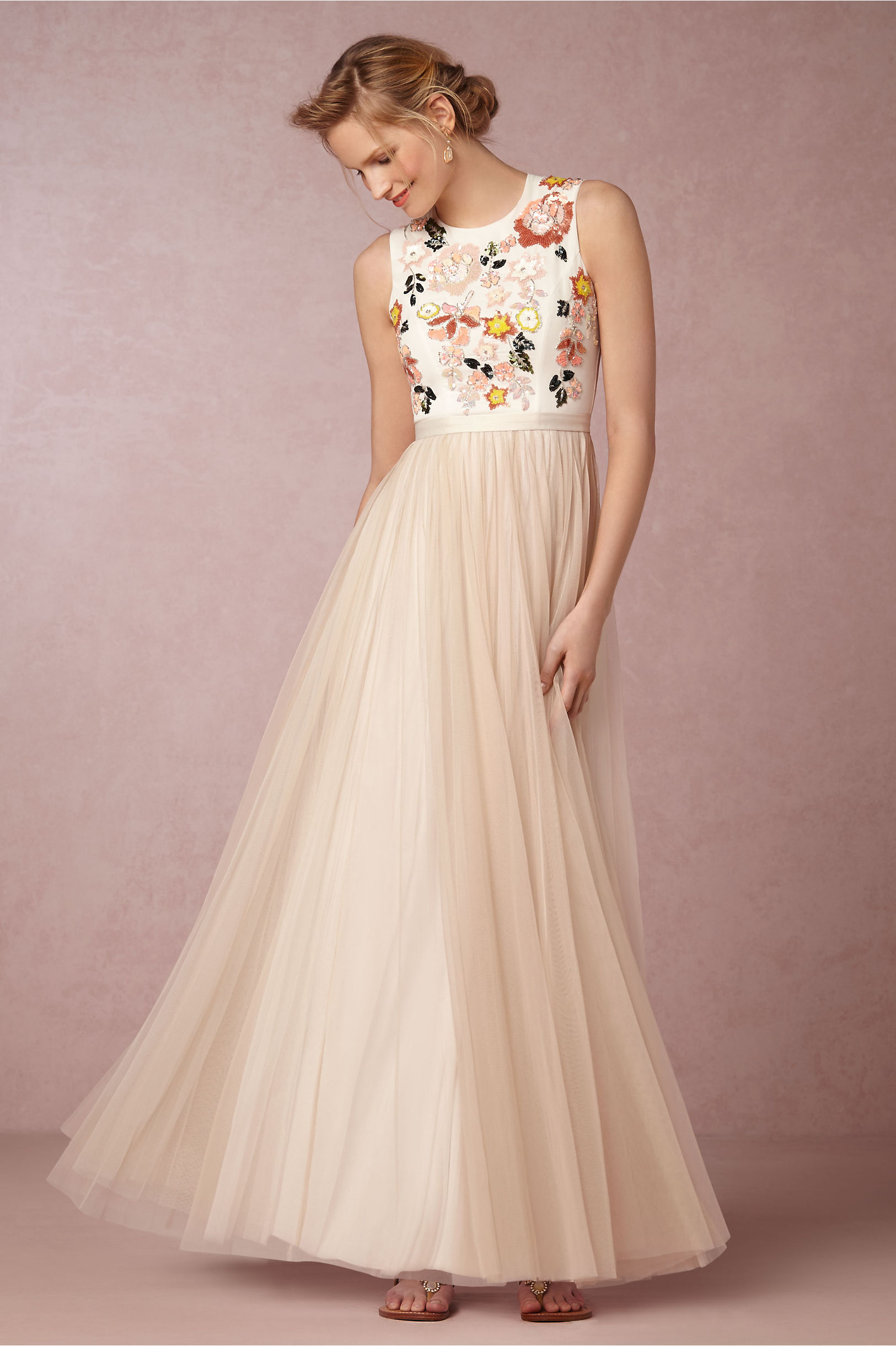 Trailing Floral Maxi in Occasion Dresses | BHLDN