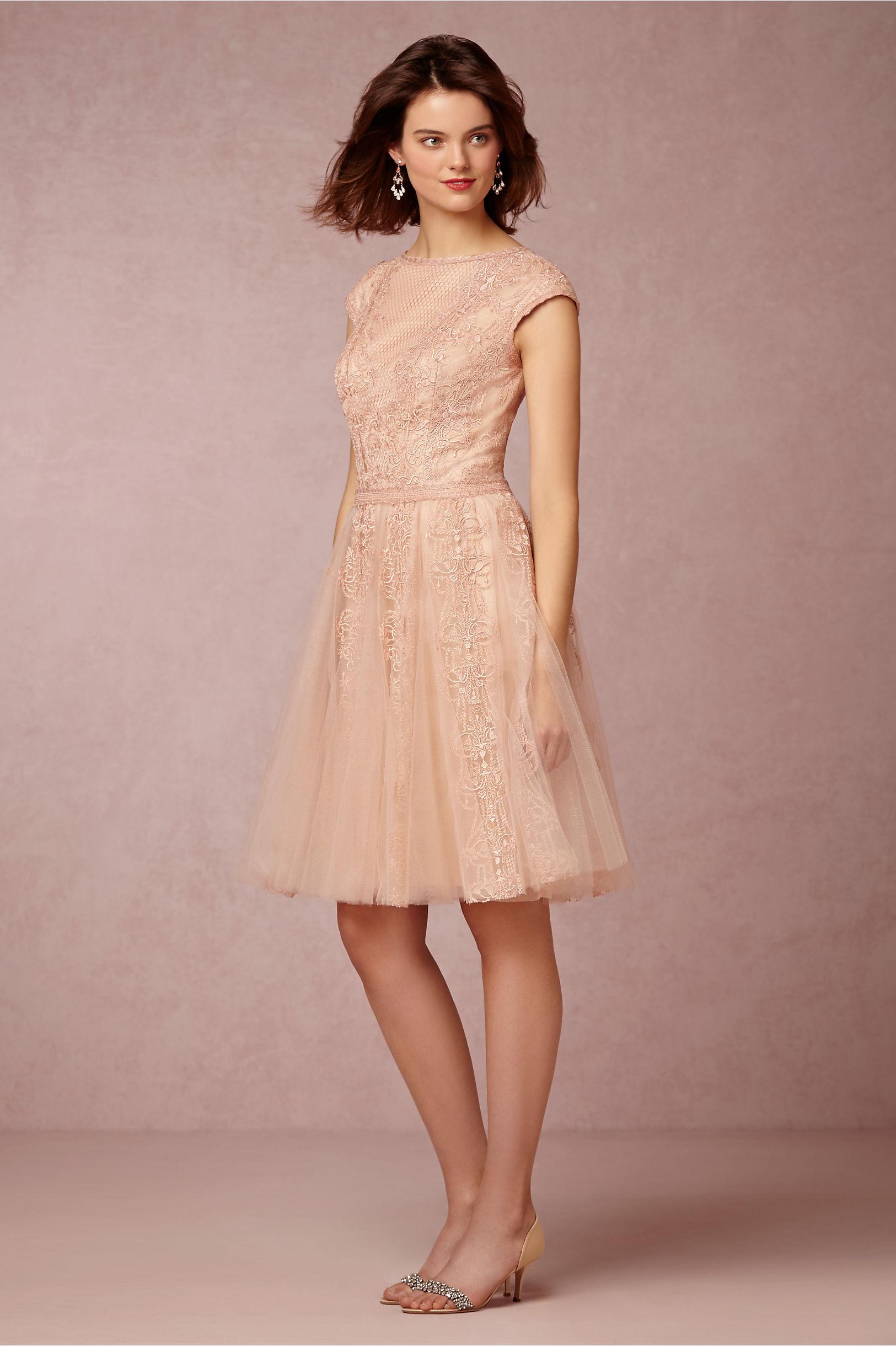 Tadashi Collection Spring 2018 Dress Blush