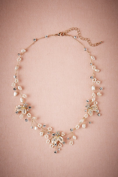 GOLD Fiora Necklace | BHLDN