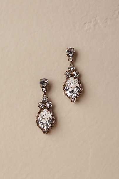 Sorrelli Crystal Lettice Drop Earrings | BHLDN