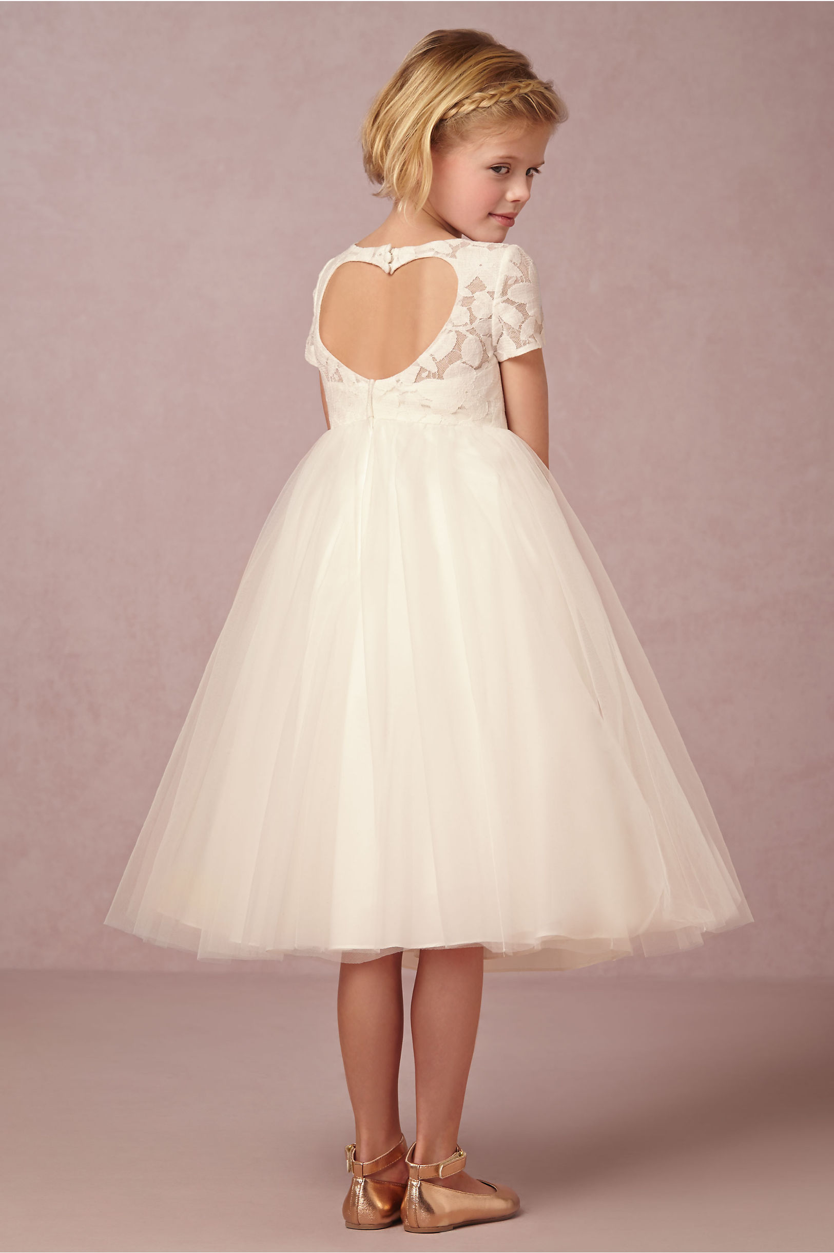 Portia Dress Ivory In Sale Bhldn