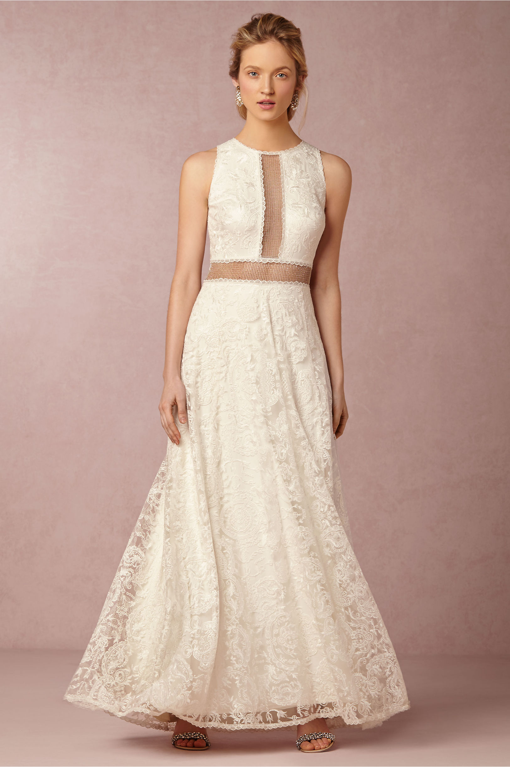 Ivory Stella Gown | BHLDN