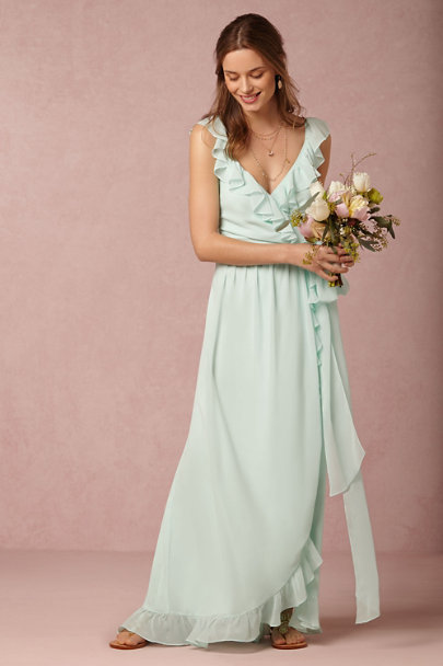 Pacific Mist Polly Dress Bhldn