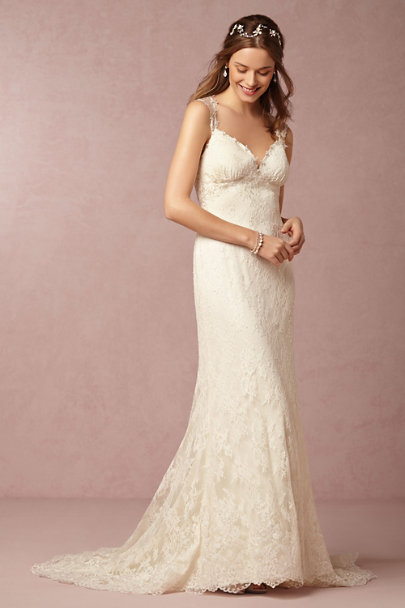 Watters Ivory Briar Rose Gown | BHLDN