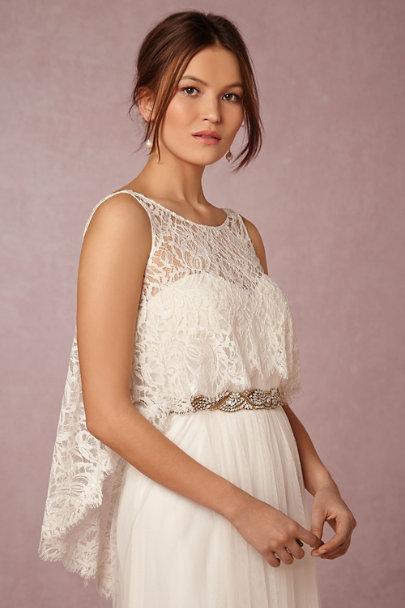 88de4c4e562 Theia Bridal Ivory Celeste Topper