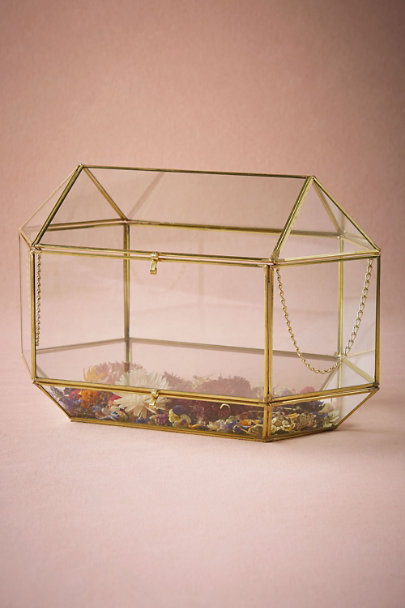 Clear Conservatory Envelope Holder | BHLDN