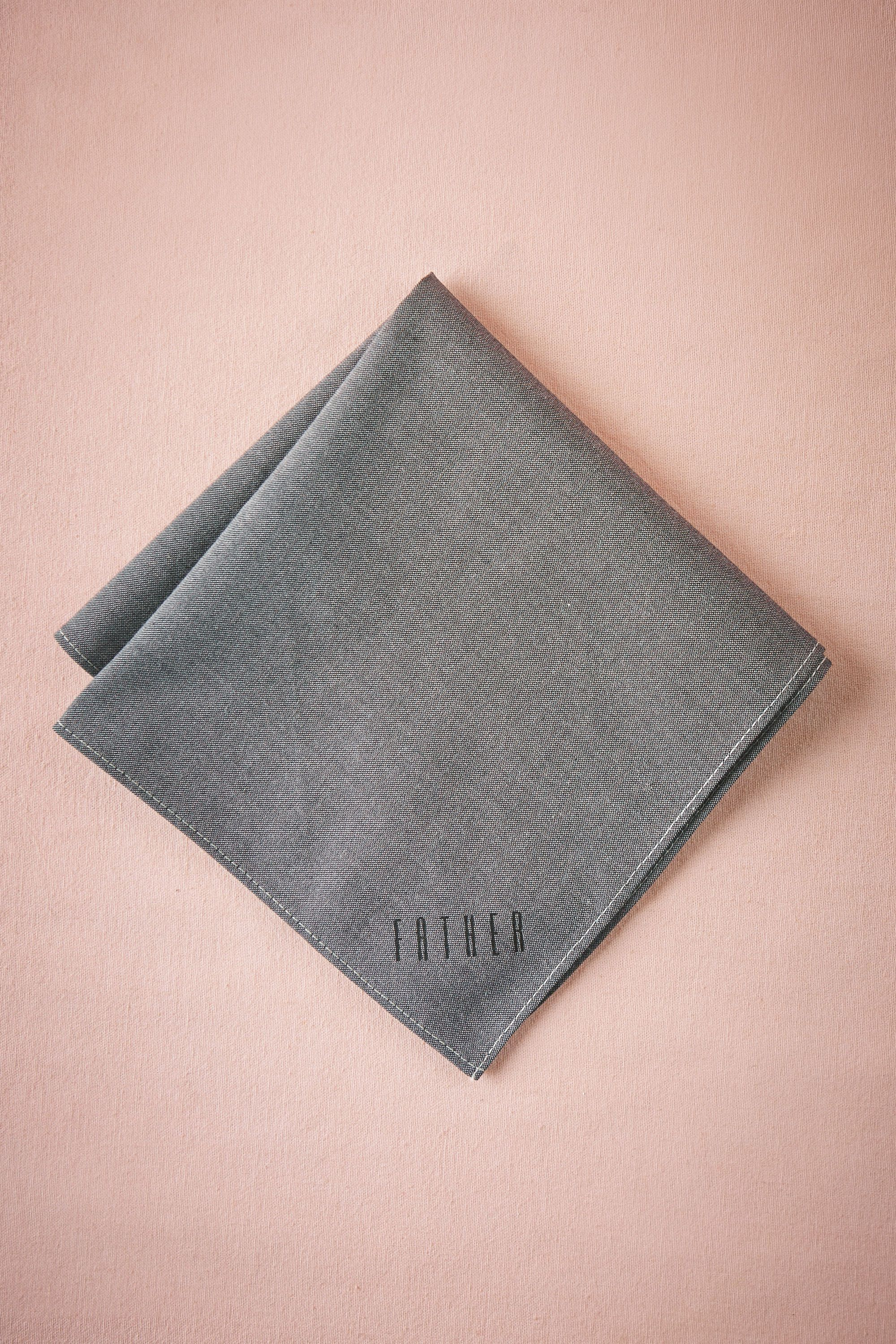Father Chambray Handkerchief