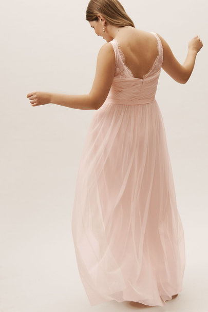 Hitherto Blush Fleur Dress | BHLDN