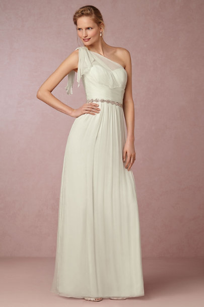 Silver Mira Fitted Belt | BHLDN