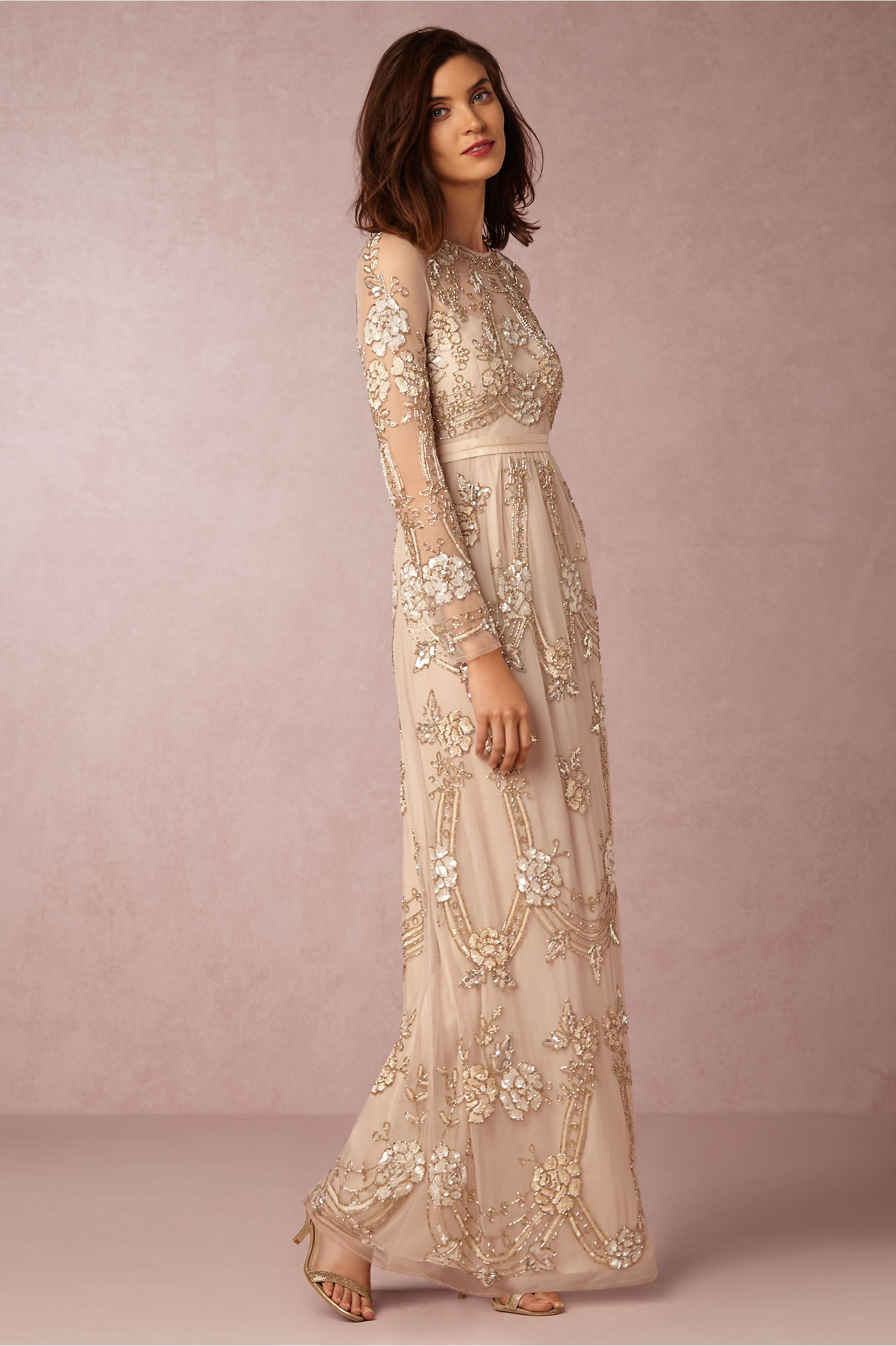 Adona Dress in Bride | BHLDN