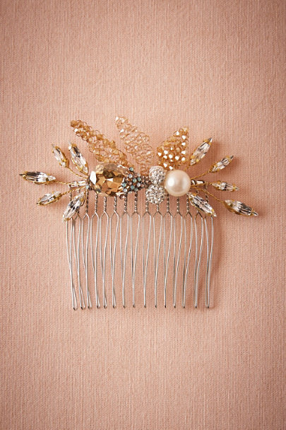 Jane Tran Gold Enchanted Forest Comb | BHLDN