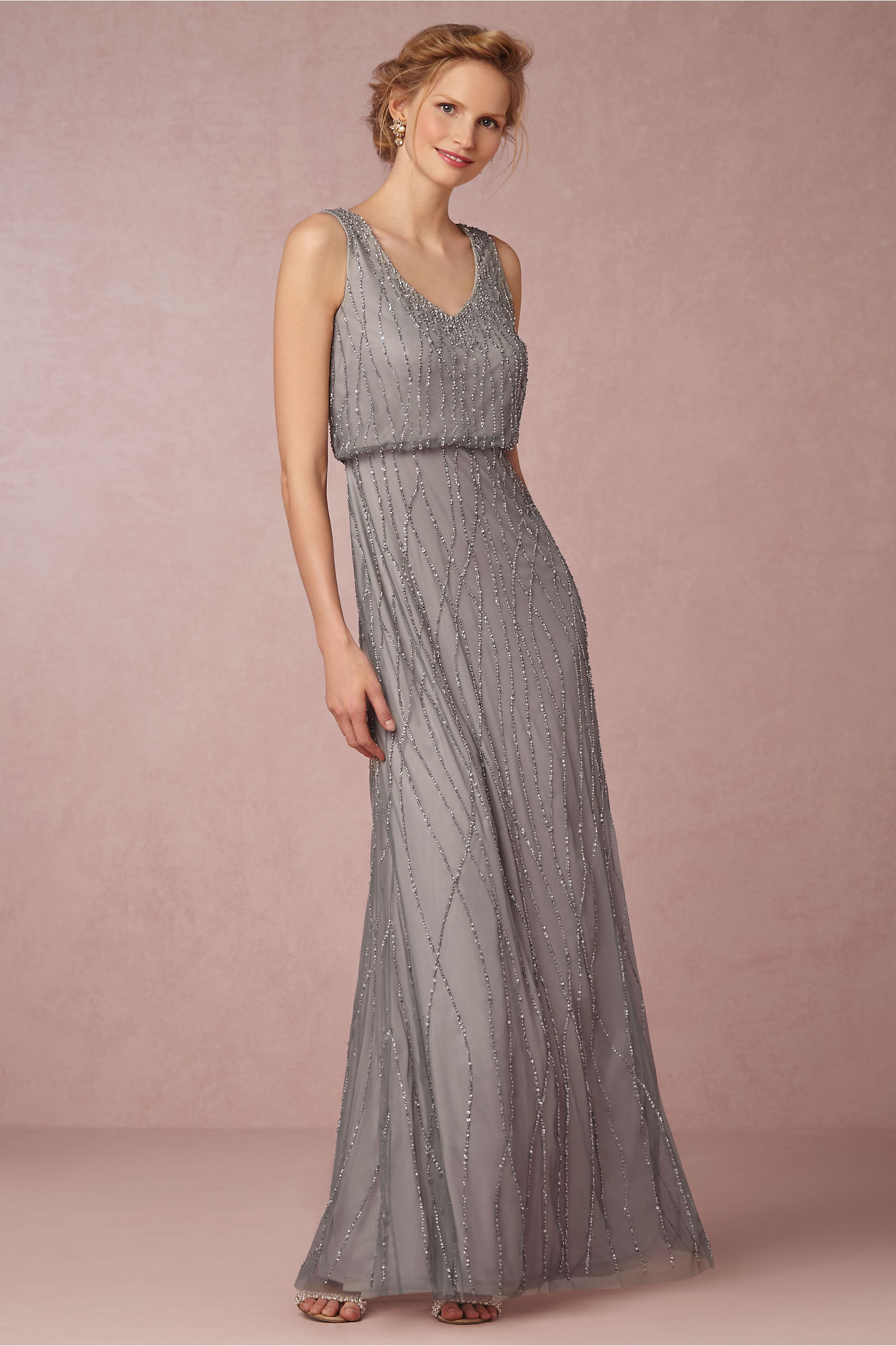 Brooklyn dress in bridal party bhldn slate heather brooklyn dress bhldn ombrellifo Choice Image