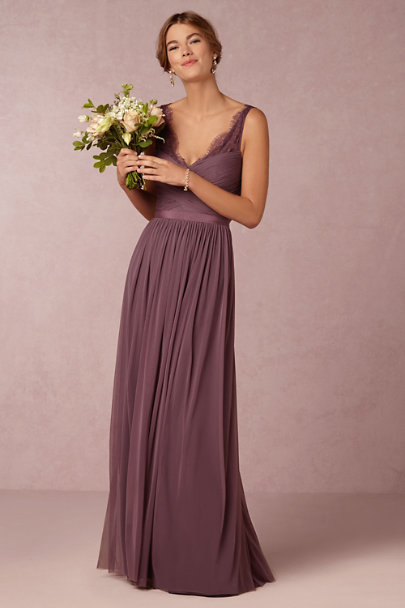 Hitherto Antique Orchid Fleur Dress | BHLDN