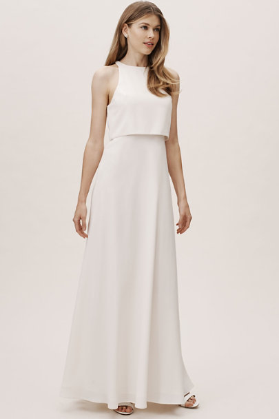 View larger image of Jill Stuart Iva Crepe Maxi