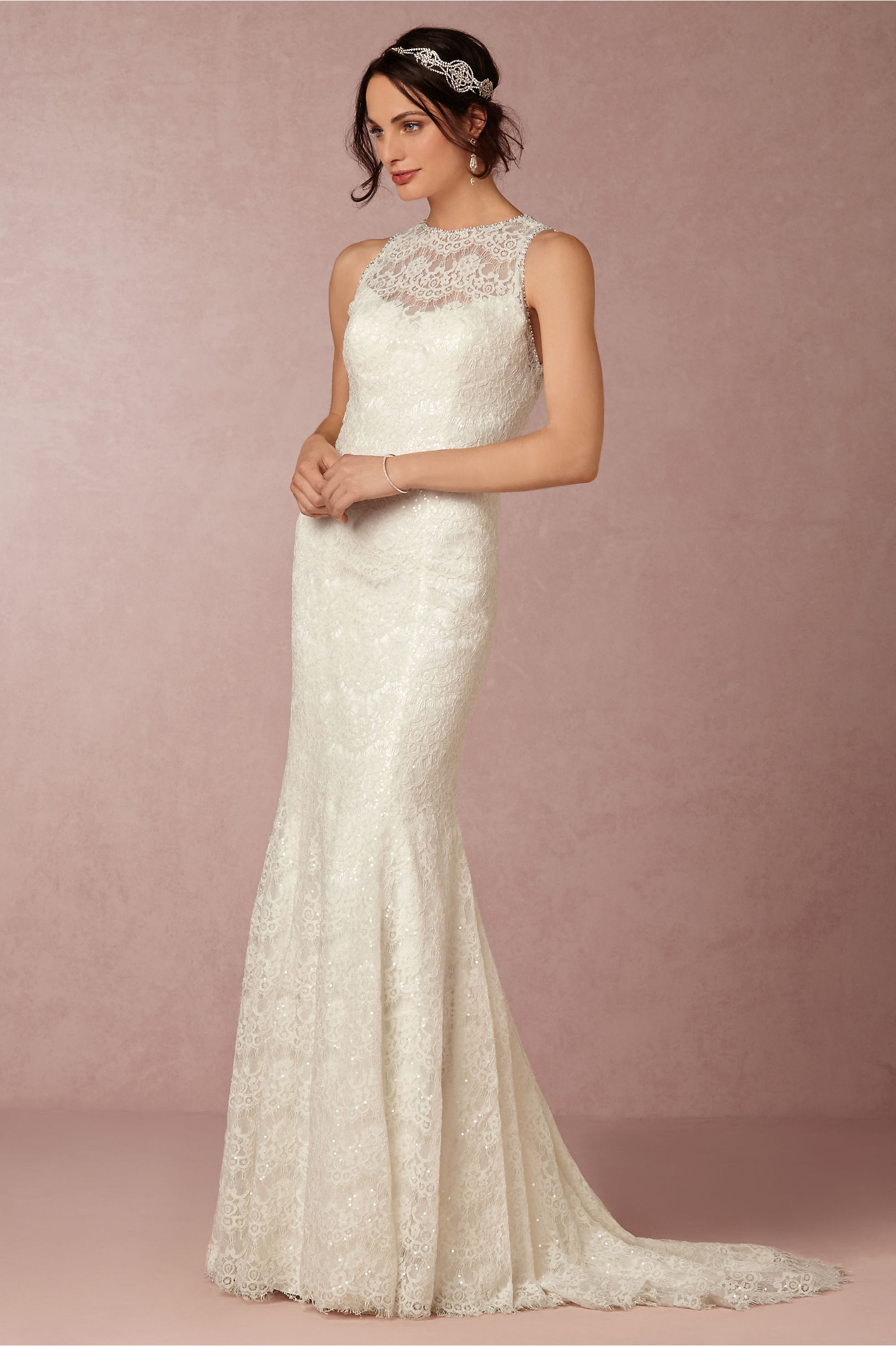Devin Gown Ivory In Sale