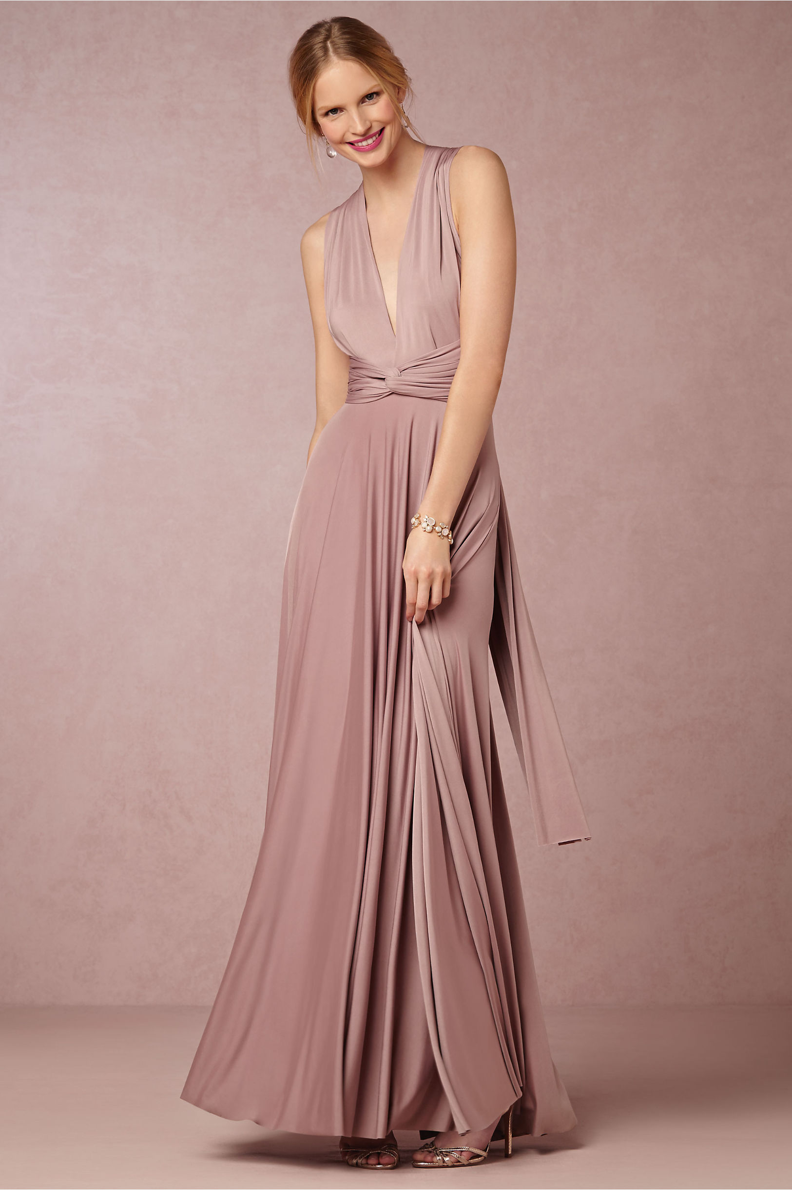 Ginger Convertible Maxi Dress in Bridal Party | BHLDN