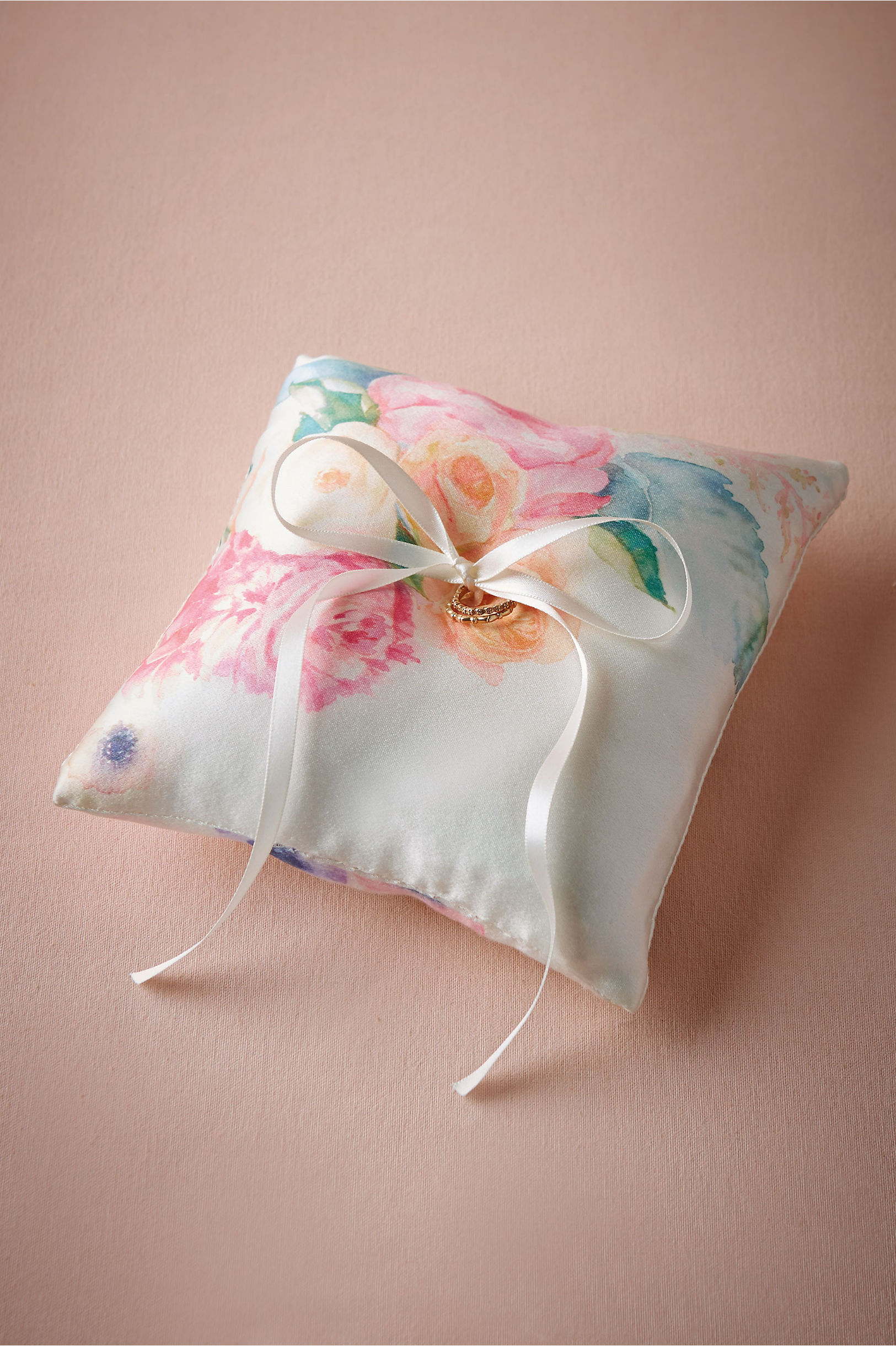Aquarelle Ring Pillow in New | BHLDN