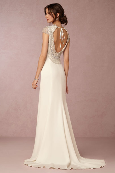 Natural Dylan Gown | BHLDN