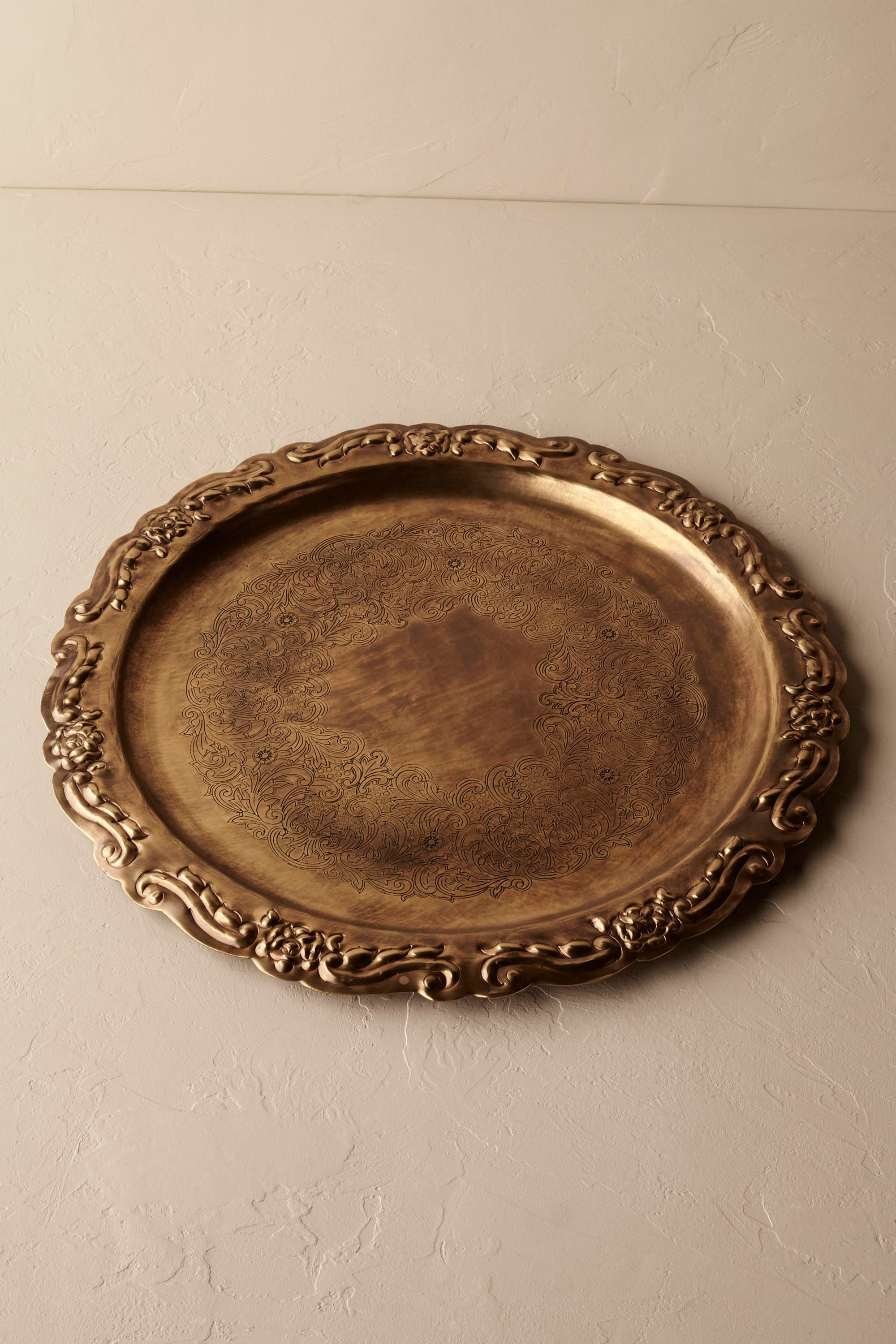 Heirloom Brass Tray