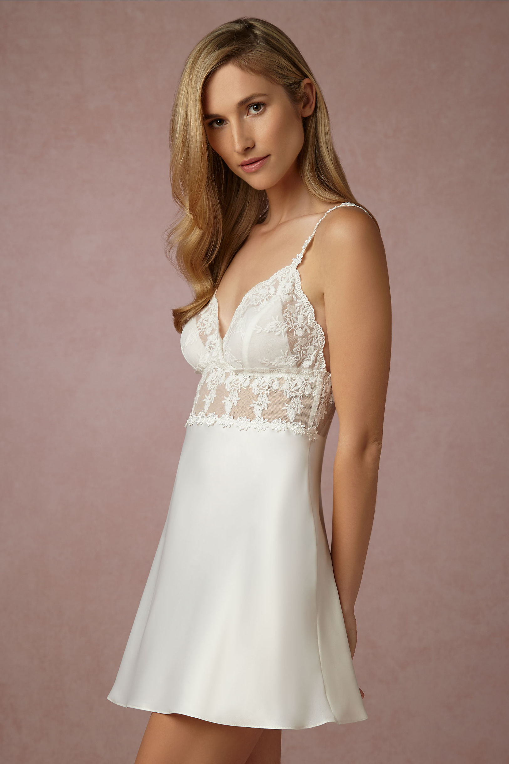 Virginia Chemise in Lingerie | BHLDN