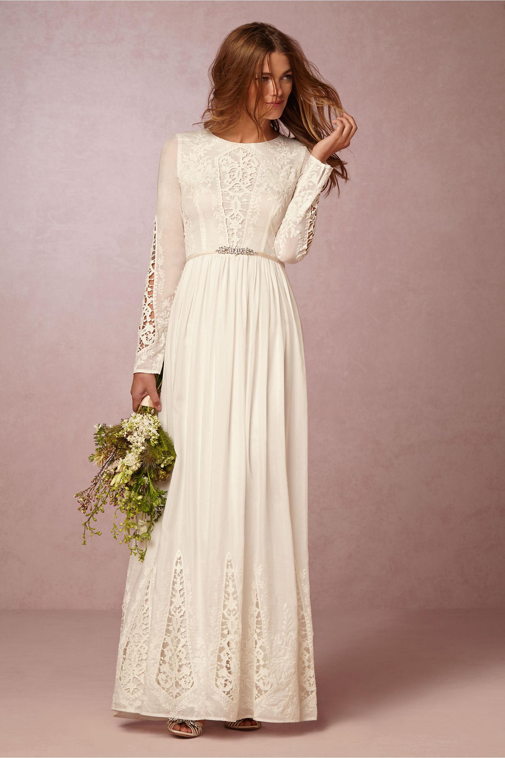 McKenna Day Dress in New & Noteworthy | BHLDN