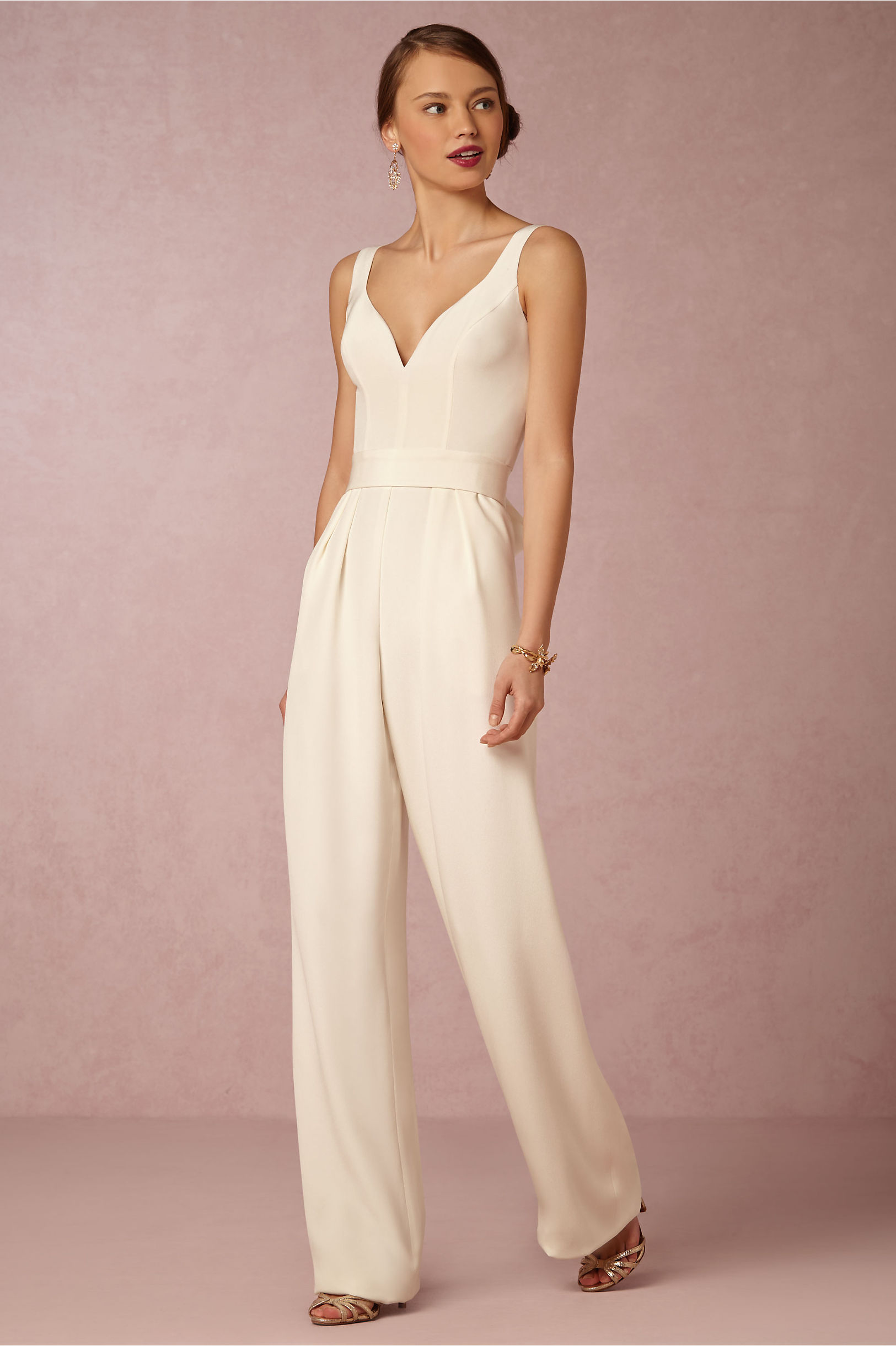 Aurore Jumpsuit in New & Noteworthy | BHLDN