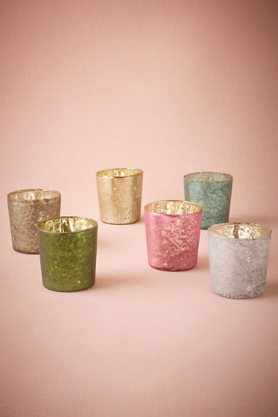Turquoise Kodachrome Votives | BHLDN