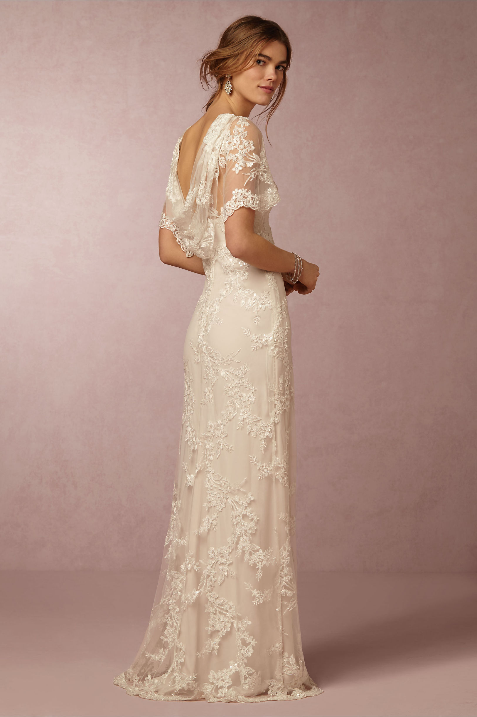 Marchesa Notte Ivory Estella Gown Bhldn