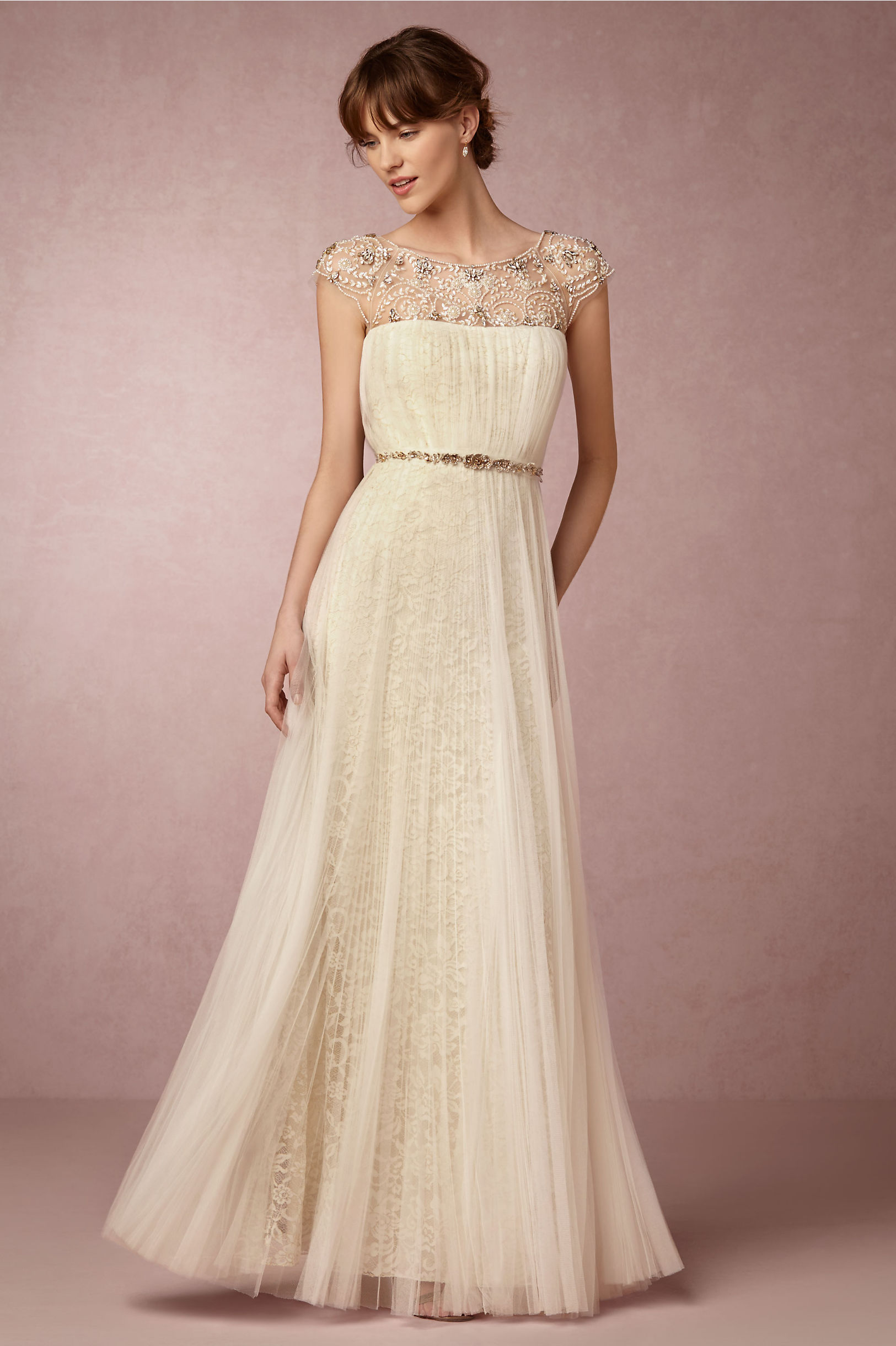 Tiernan Gown in Bride | BHLDN