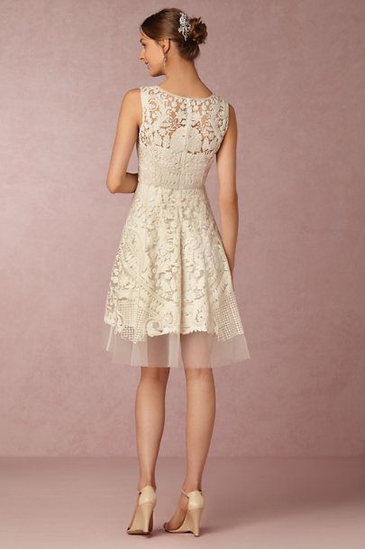 Pankaj & Nidhi Ivory Kiara Dress | BHLDN