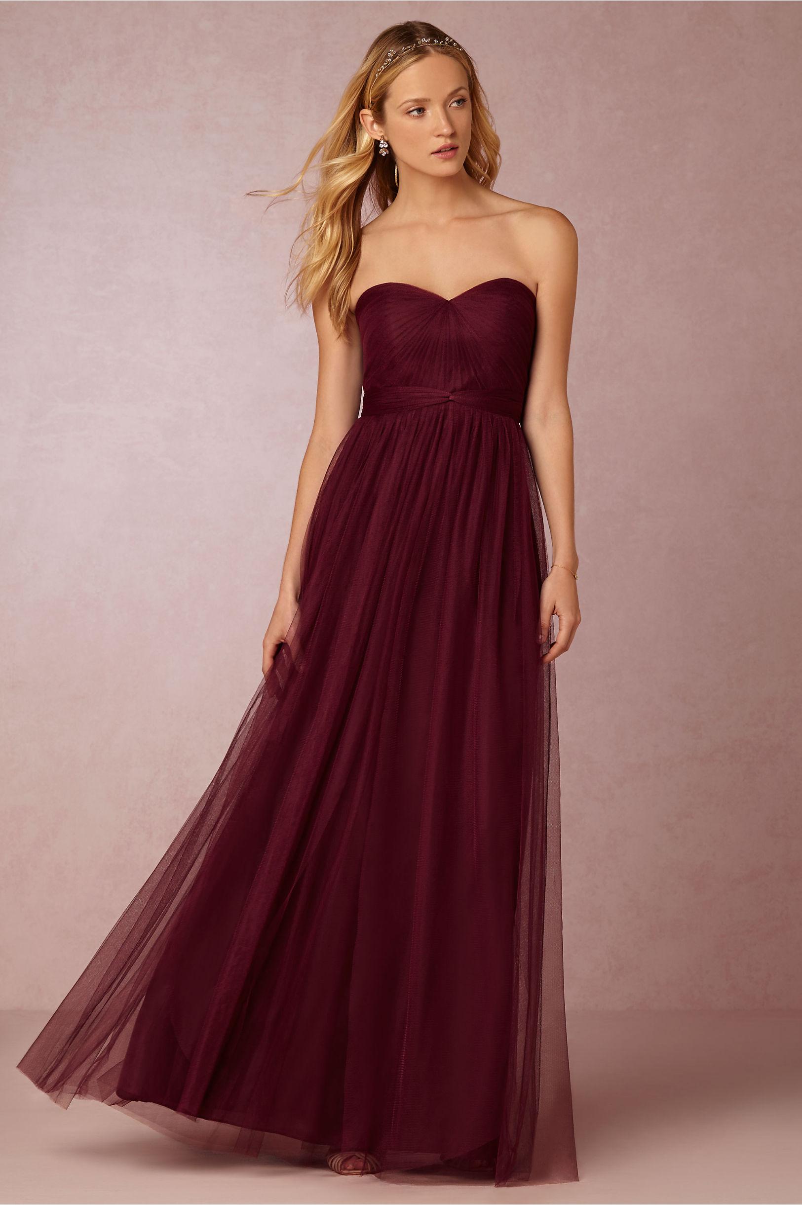 562705d2260f7 Jenny Yoo Black Cherry Annabelle Dress   BHLDN
