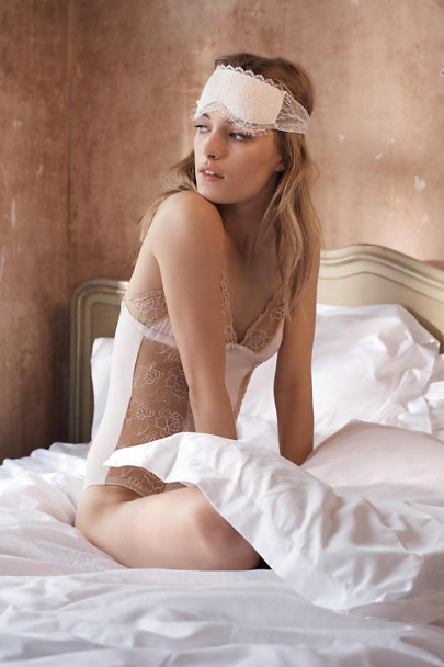 Hanky Panky Ivory Marseille Sleep Mask | BHLDN
