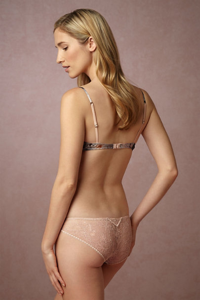 Samantha Chang Peach Blossom Peach Blossom Silk Knickers | BHLDN