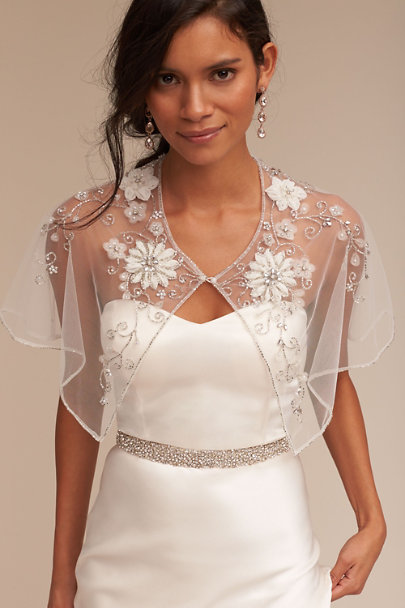 Silver Snowfall Fitted Belt | BHLDN