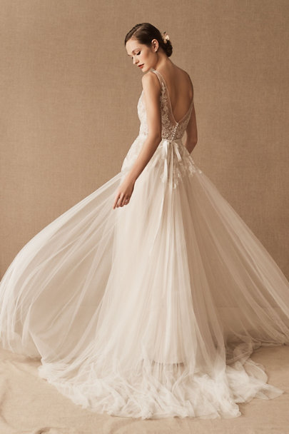 Wtoo by Watters Porcelain Reagan Gown | BHLDN