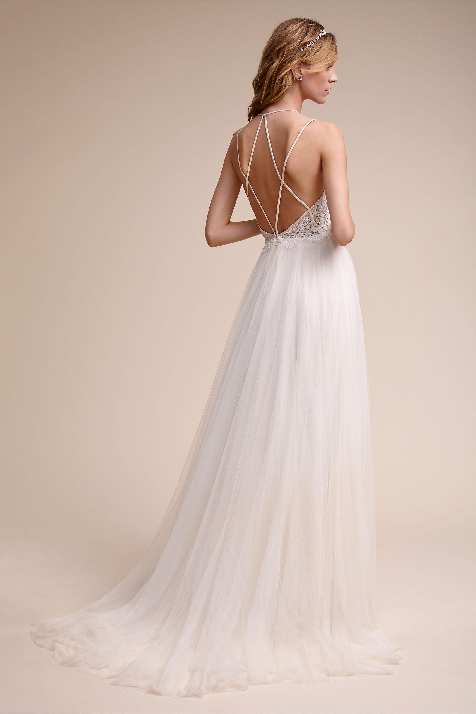 Rosalind Gown Almond in Bride   BHLDN