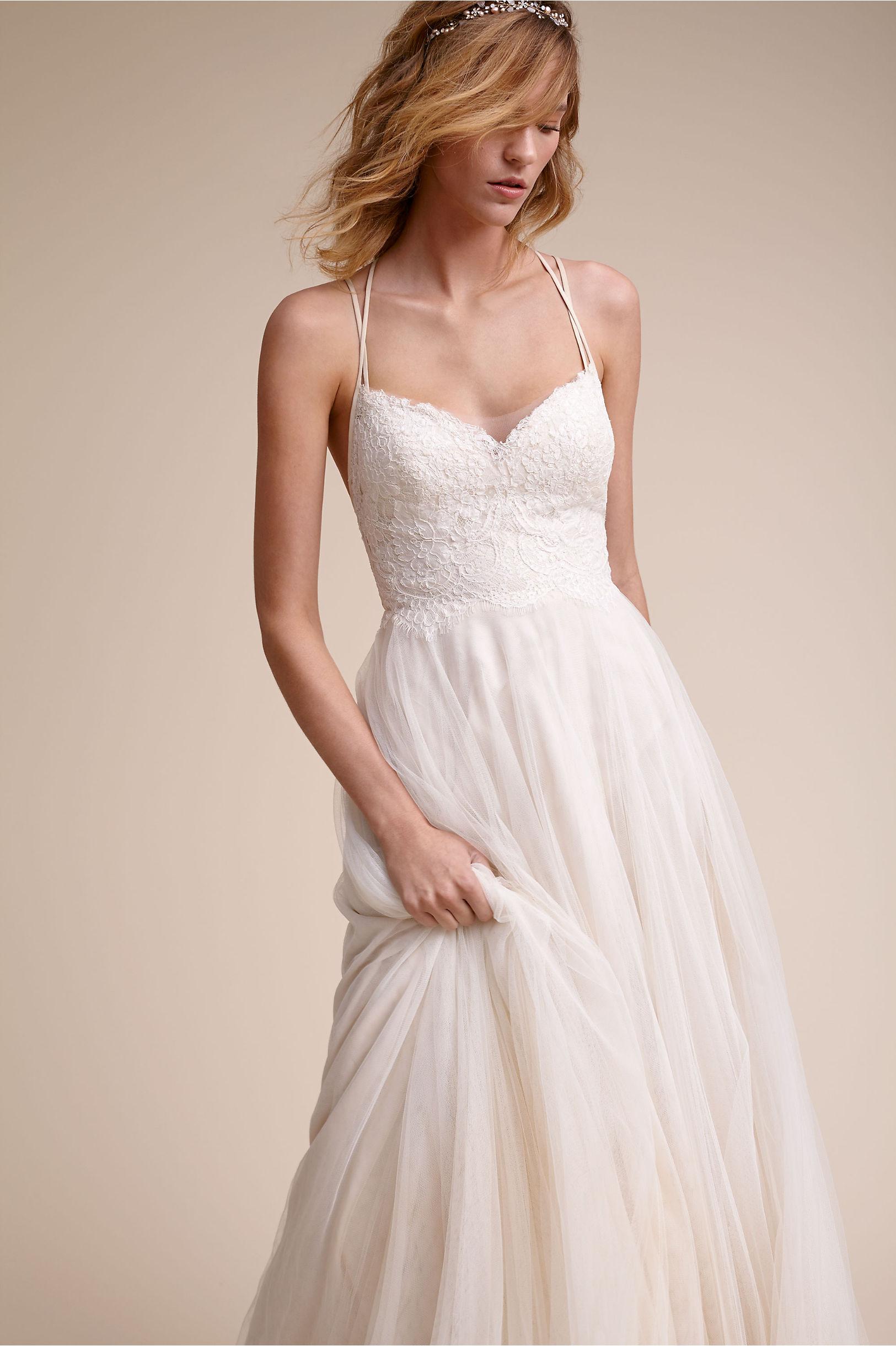 93b78e6f6 Watters Almond Rosalind Gown | BHLDN