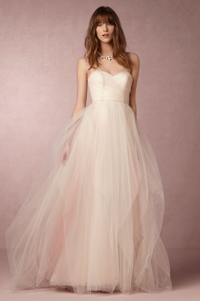Hayley Paige Blush Bella Gown | BHLDN