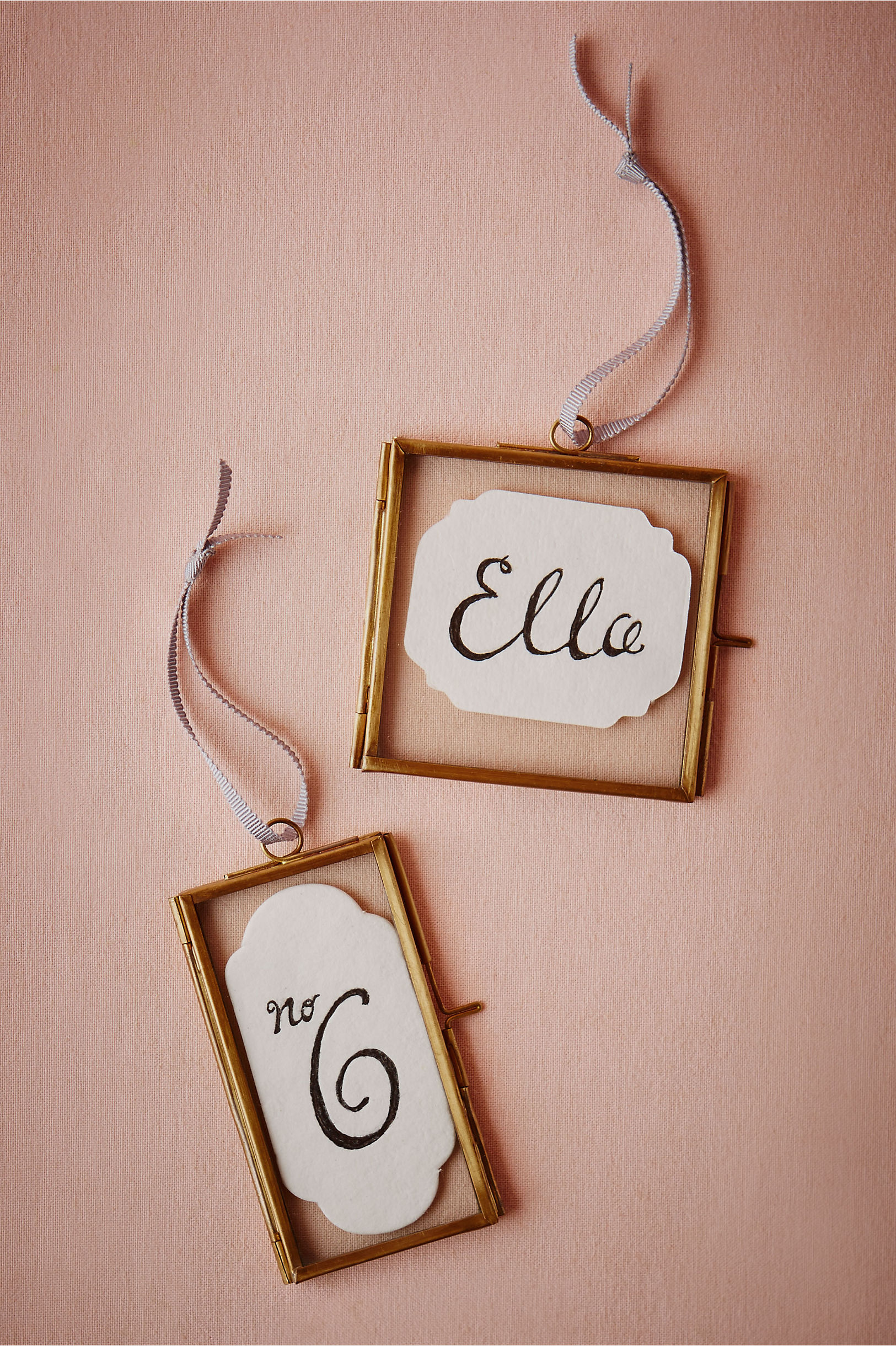 Hanging Glass Frames (4) in Décor & Gifts | BHLDN