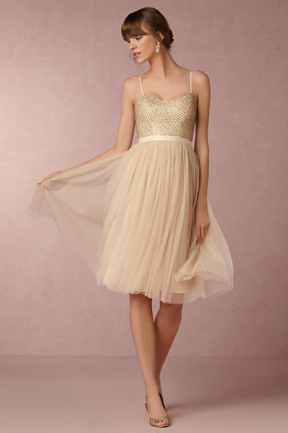 Needle & Thread Dusty Pink Coppelia Dress | BHLDN