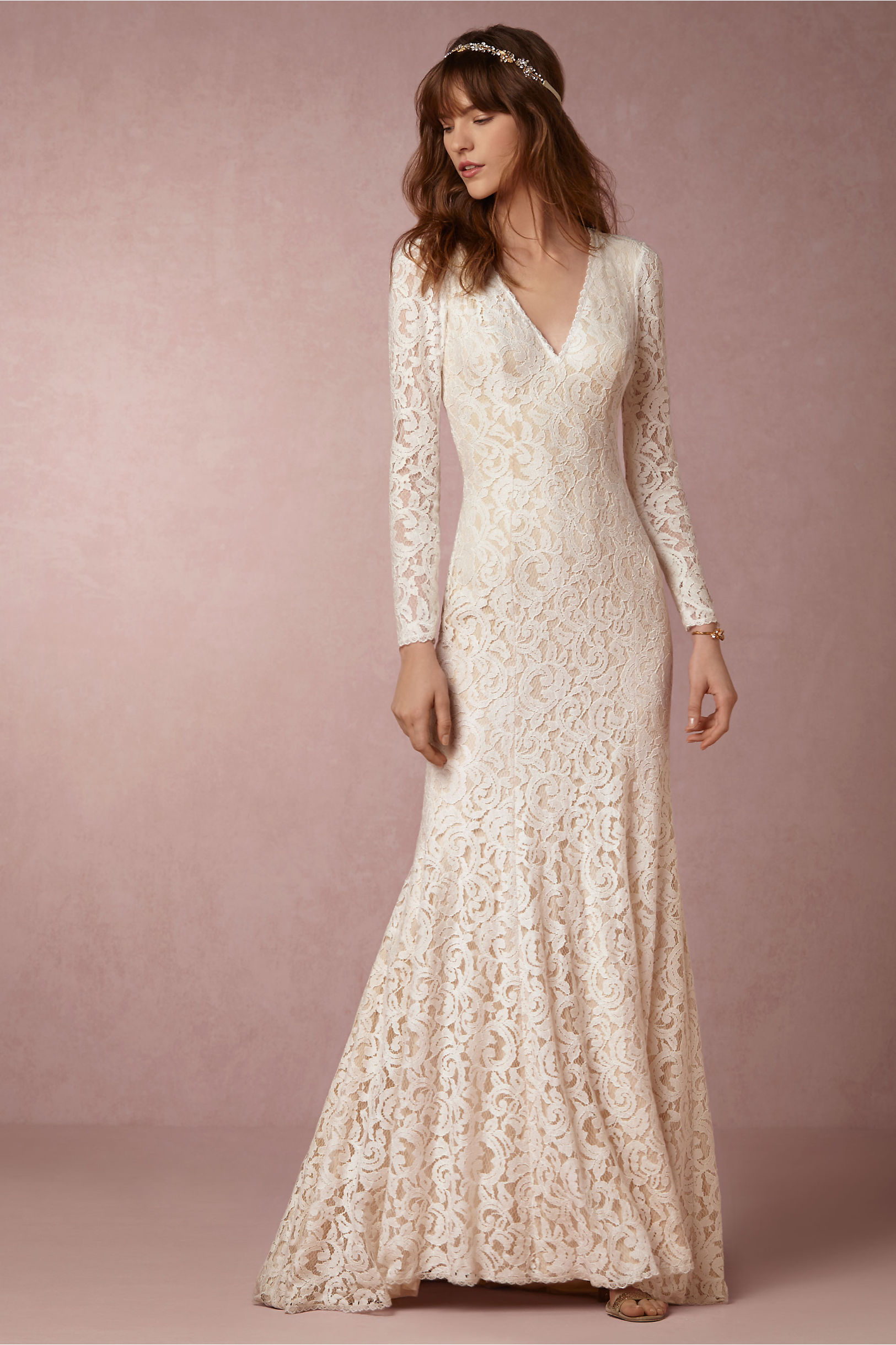 Lisette Gown in New & Noteworthy | BHLDN