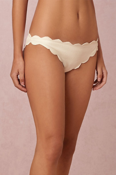 Marysia Coconut Scalloped Bikini | BHLDN