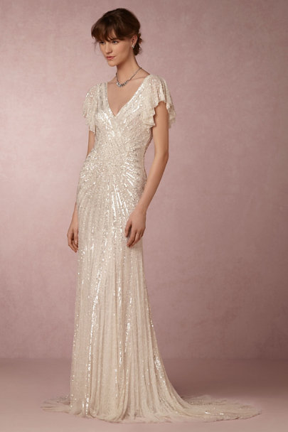 Eliza Jane Howell Ivory Cibella Gown | BHLDN