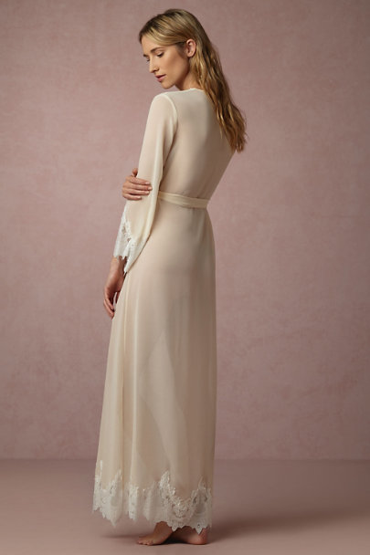 Homebodii Champagne Ione Robe | BHLDN