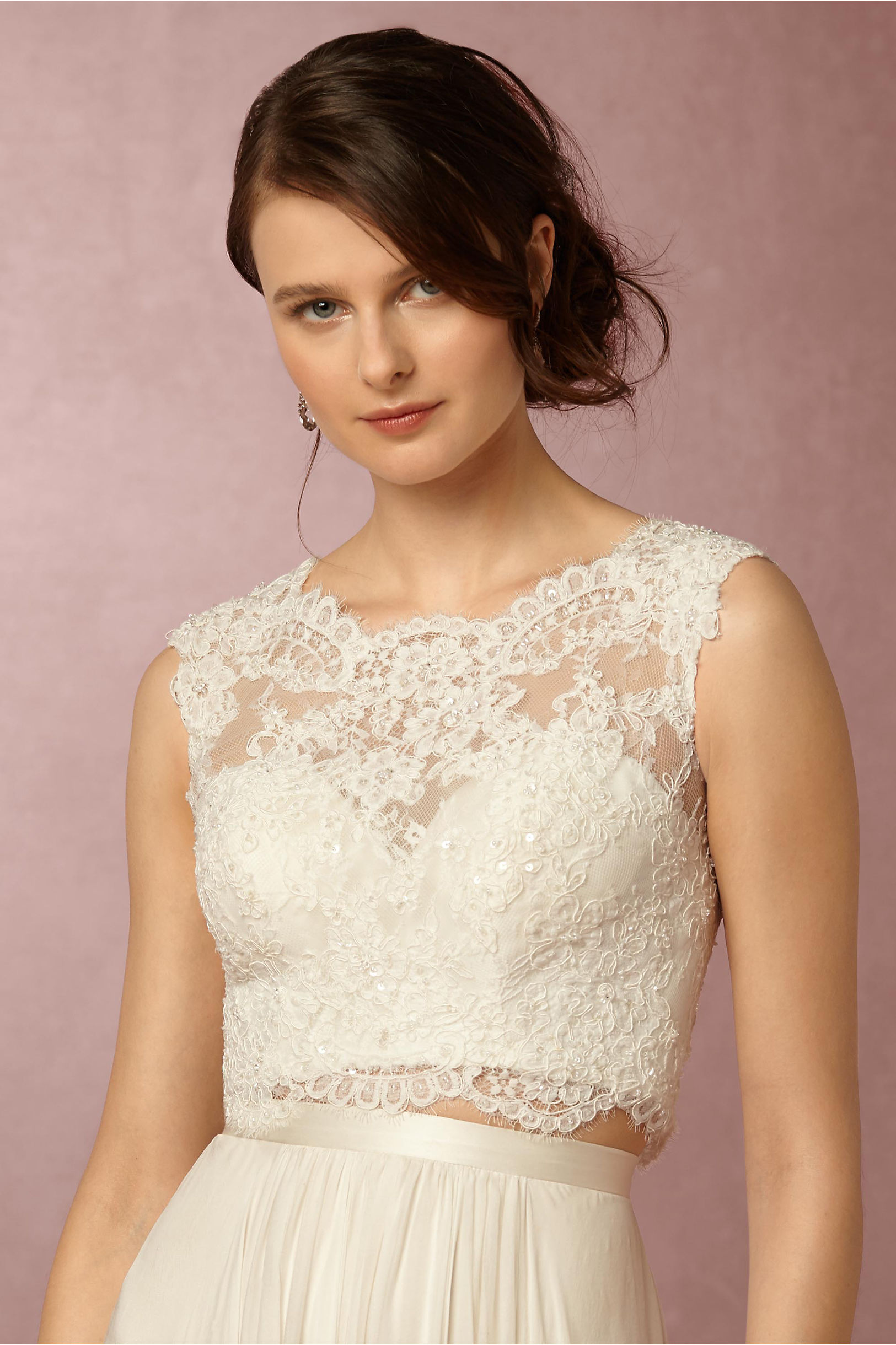 top sale wedding zoom dress xl in a kinsey product creme bhldn corset earrings watters