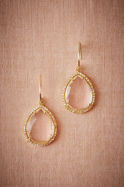 Gold Crystal Lake Drops | BHLDN
