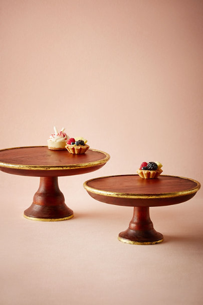 cake stands for sale gilded wood cake stand in bhldn 2339