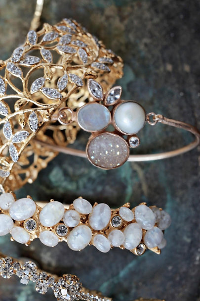 Atelier Mon Gold Moonflora Bangle | BHLDN